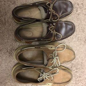 Lot of 2 boat shoes